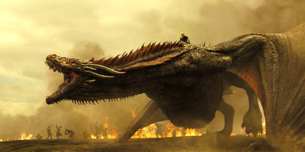 A dragon from Game Of Thrones with Daenerys on him. Should this dragon be part of the box set