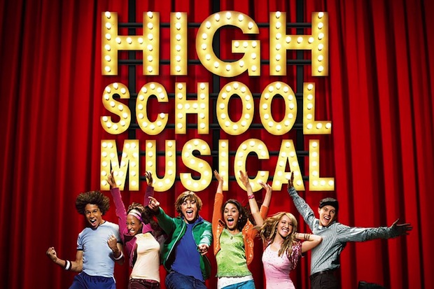 The first poster ever for High School Musical