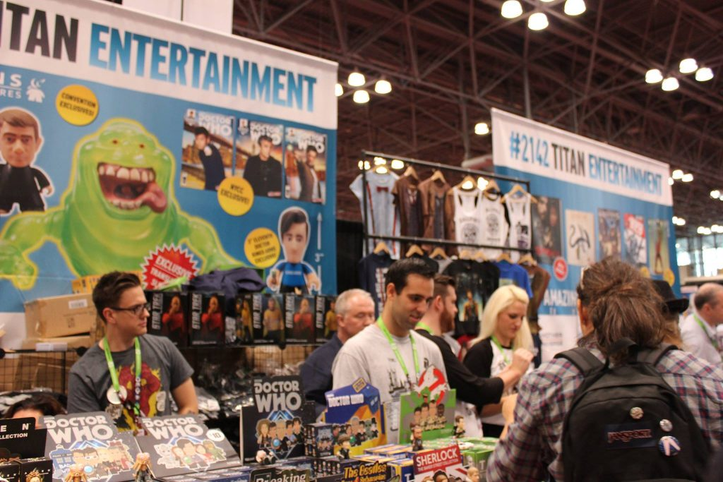 Titan Entertainment at the NYCC in 2015