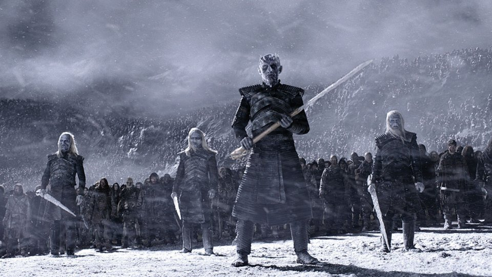 The Night King with his army