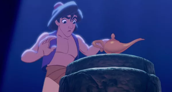 Why Does Aladdin Have No Nipples