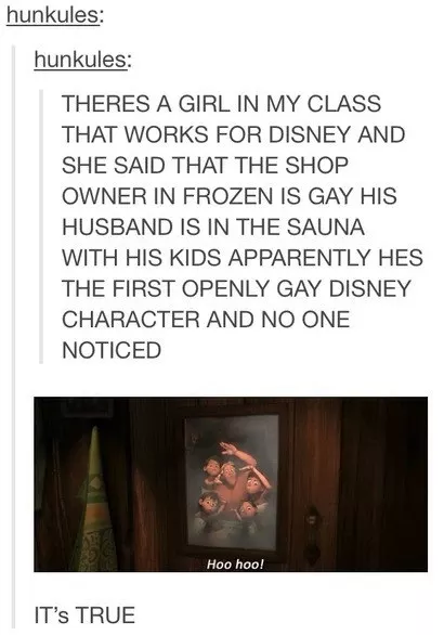 There Was A Openly Gay Character In Frozen And Nobody EvenNoticed