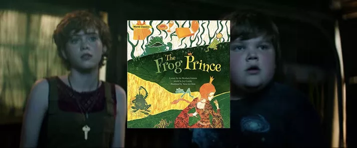 We Can See A Copy Of The Frog Prince In Beverly's Room Probably Foreshadowing