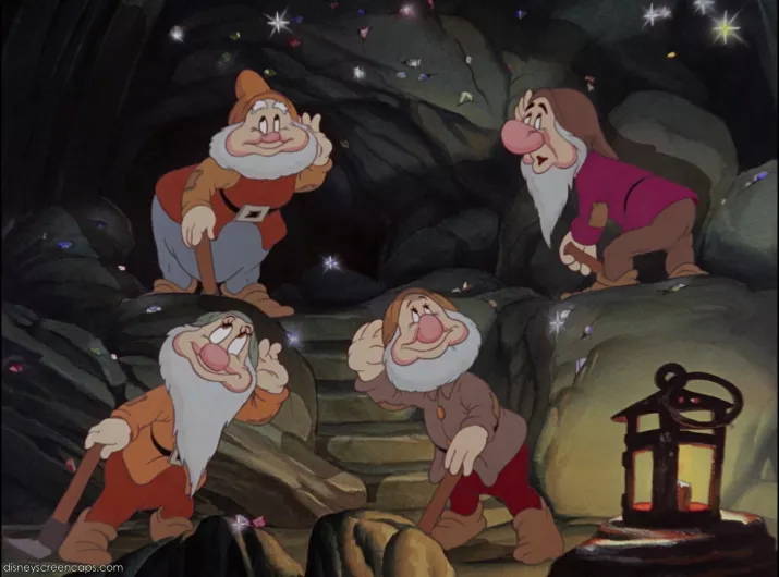 Shouldn't The Seven Dwarfs Be Rich? Don't TheyMine Diamonds And Gems All Day