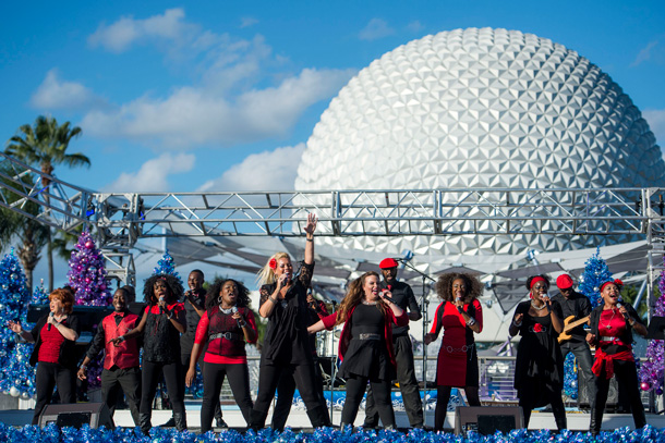 Holiday Music Throughout World Showcase