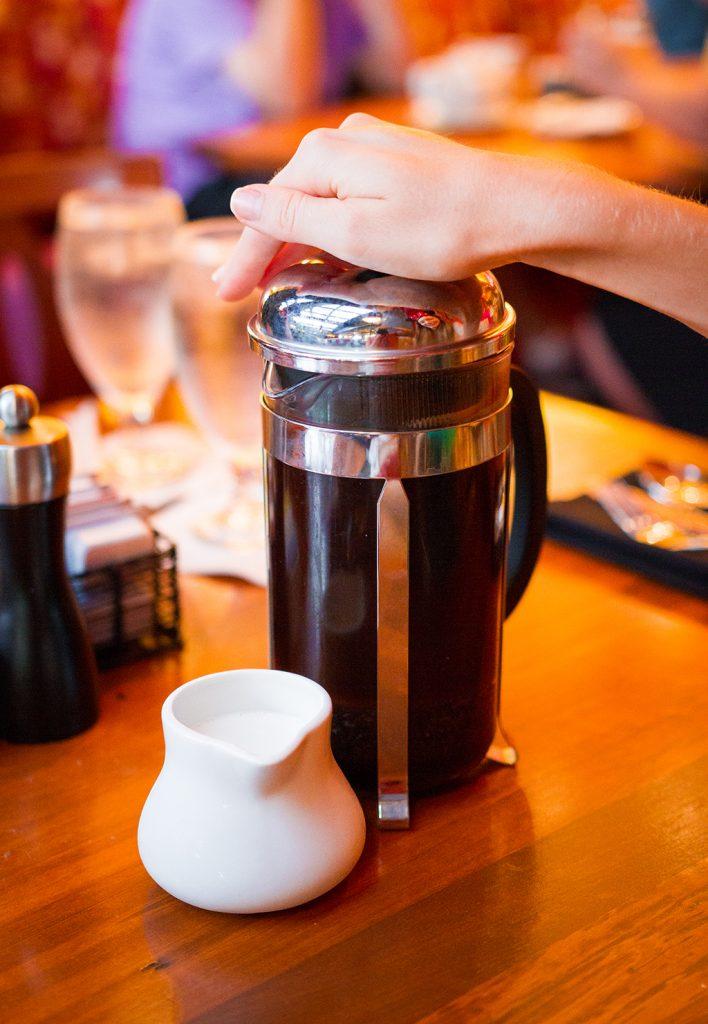 Kona Cafe's Kona Coffee Press Pot