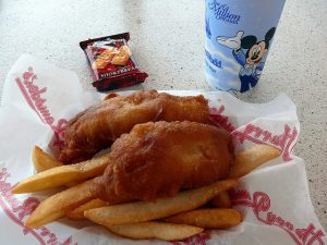 World Showcase's Fish and Chips