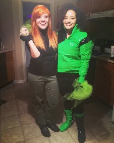 20 Kim Possible And Shego From Kim Possible