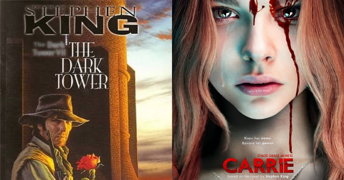 5+ Differences Between The Cover Of Stephen King's Books And