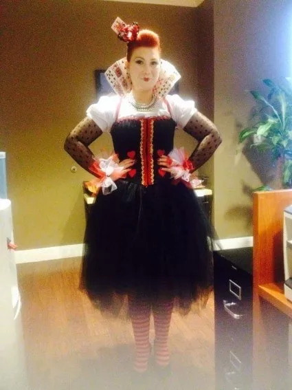 The Queen Of Hearts From Alice In The Wonderland