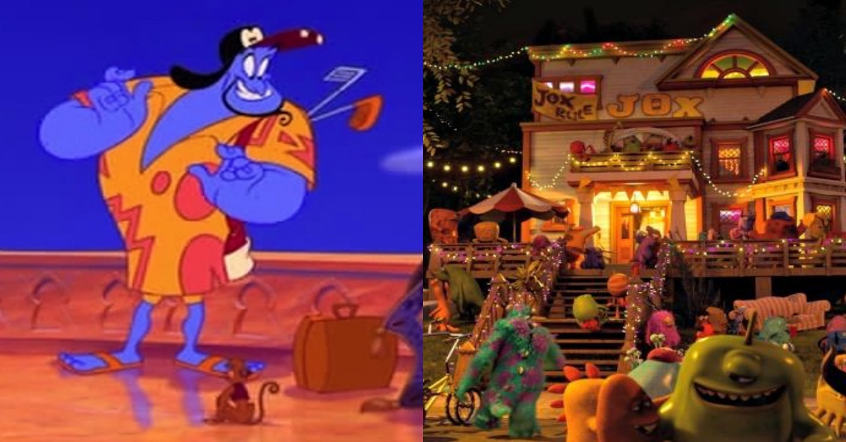 11 Disney Character Cameos in Other Disney Movies