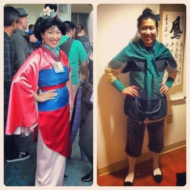 Mulan And Her Male Alter Ego, Ping