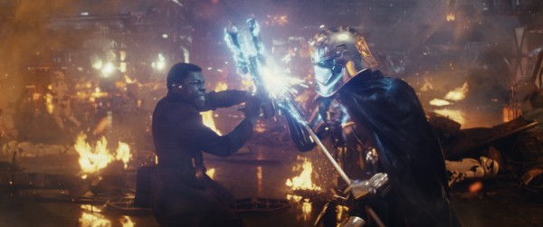 The Much Awaited Phasma-Finn Showdown Looks Glorious