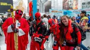 This family of Deadpool and that's some HOLY