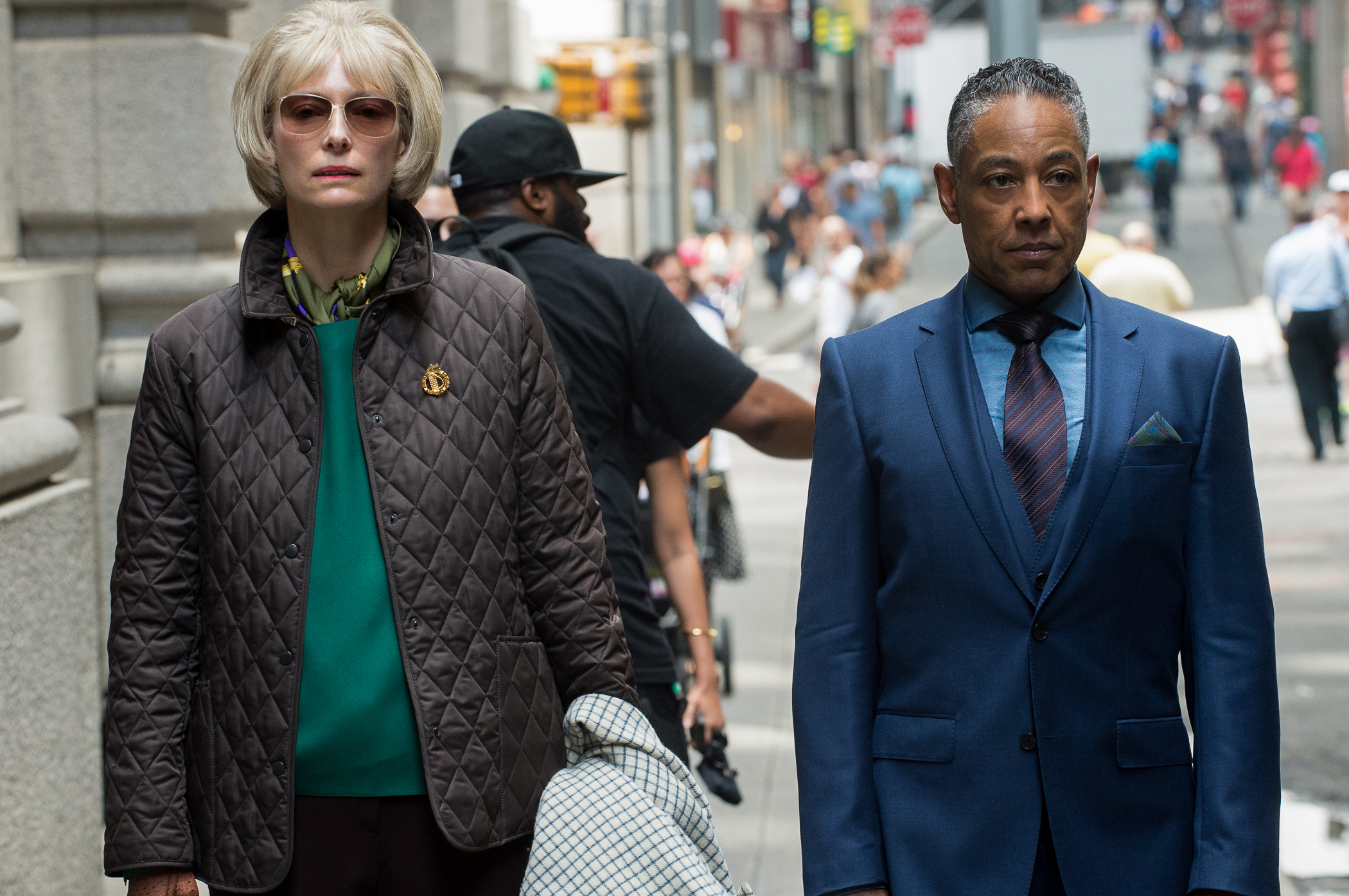 Raining Money: Tilda Swinton and Giancarlo Esposito in Okja