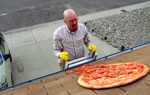 Throwing Pizza on the Roof IRL? Like, Seriously