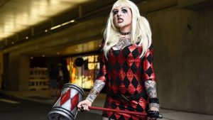 This woman's Harley Quinn cosplay is on point