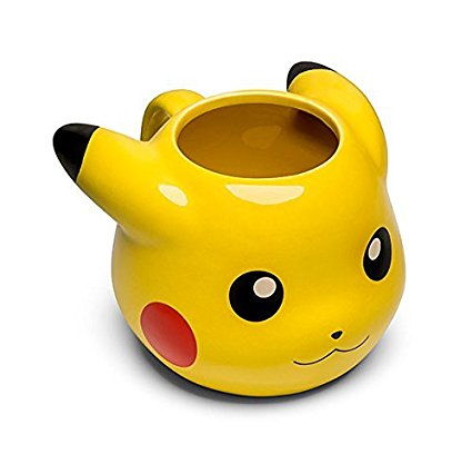 A mug of pikachu to start the day well