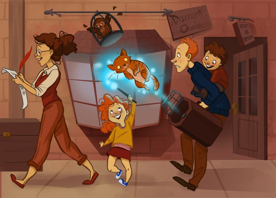 Harry Potter and One Big Happy Family