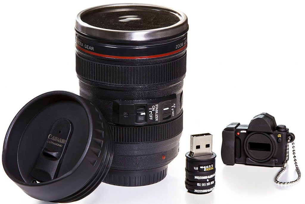 If you are a camera lover, this is the mug for you, a detail replica to detail