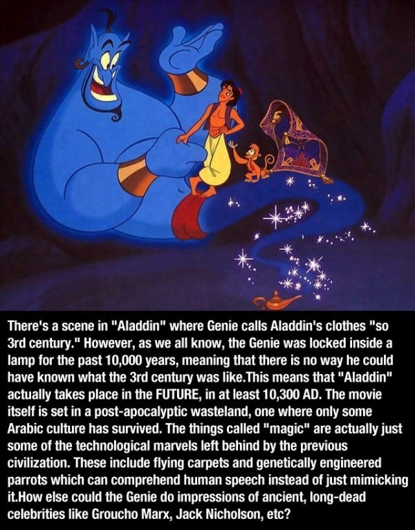 Aladdin Is Actually Set In The Future