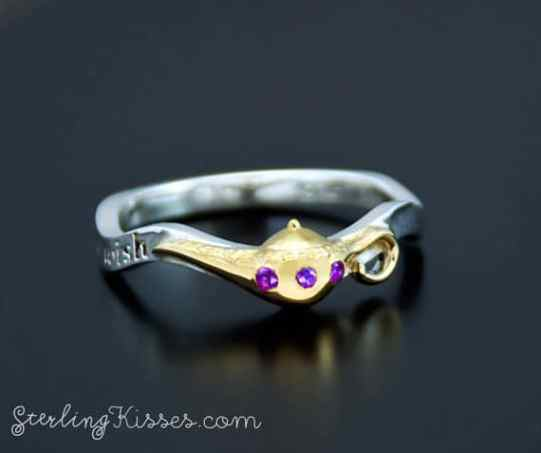Her Wish Would Be Sure To Come True After You Present Her With This Gorgeous Aladdin Inspired Ring