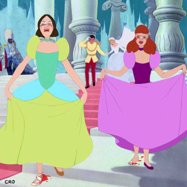 Are we sure Cinderella is the good one here