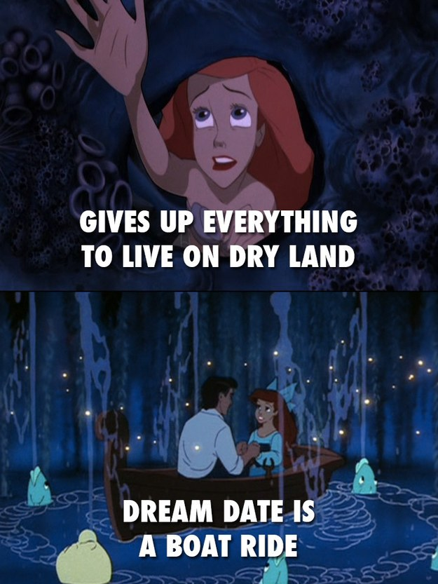 Even Ariel can become homesick