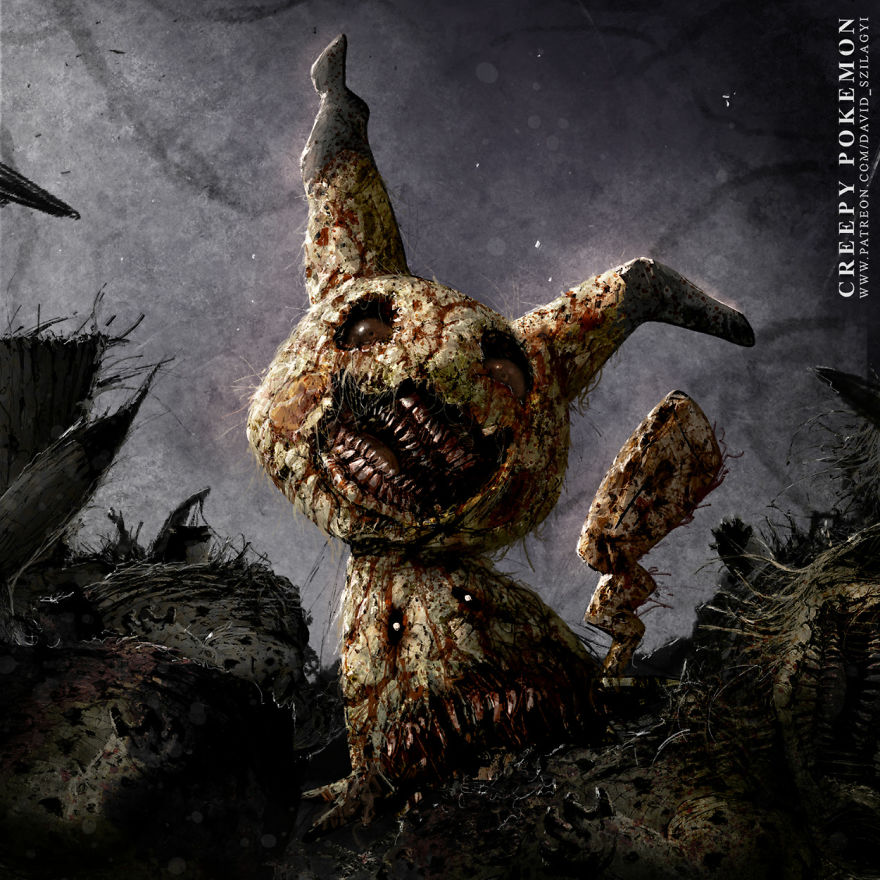As If Mimikyu Wasn't Scary Enough