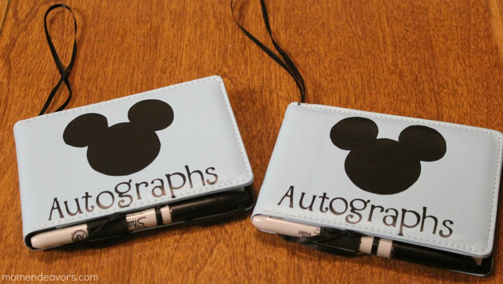 You do not have to buy an autograph book