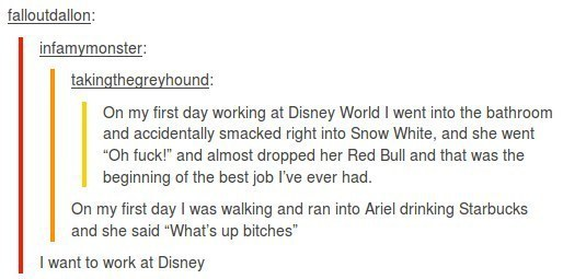 Who Doesn't Want To Work At Disney