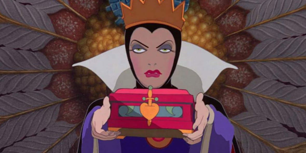 When The Evil Queen Put A Contract On Snow White's Heart