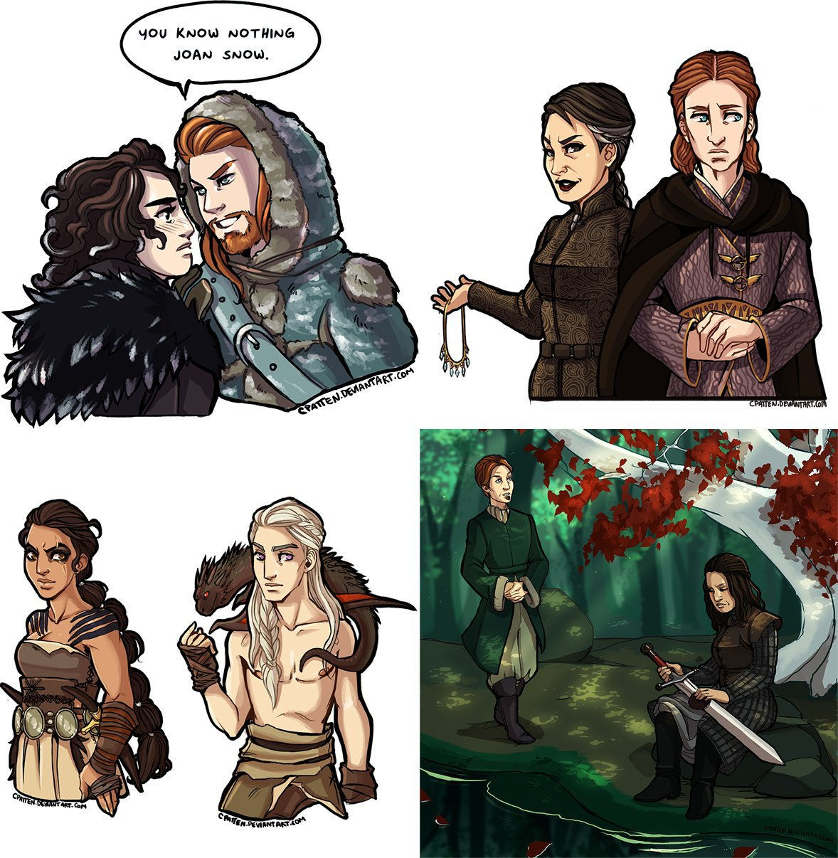 Genderbend Of Thrones