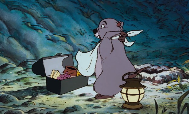 Gopher's Succotash From The Many Adventures Of Winnie The Pooh