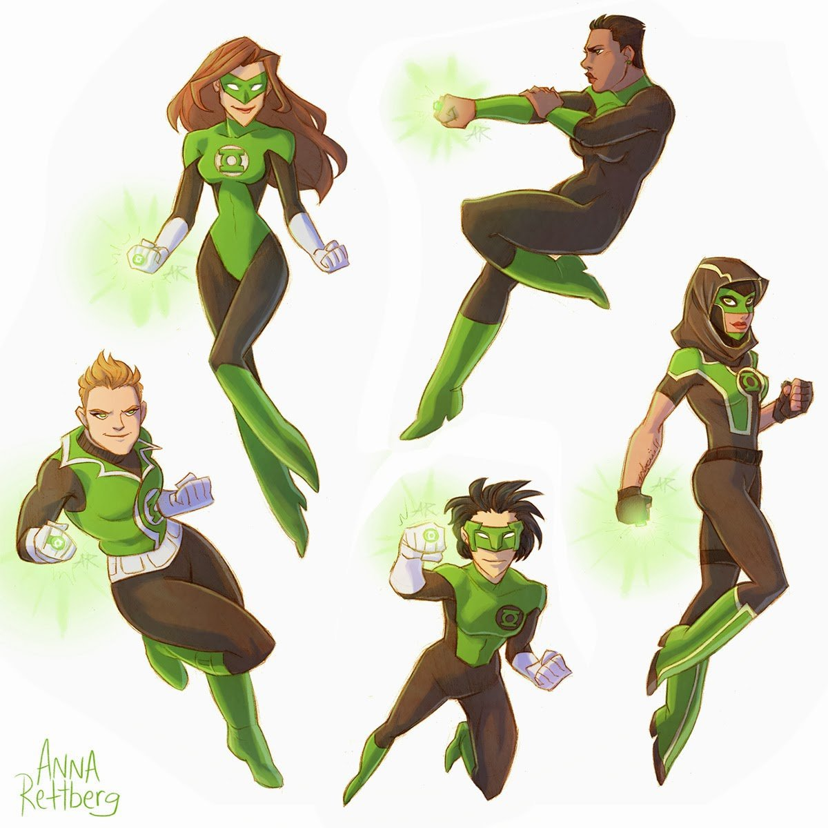 Female Green Lantern Corps
