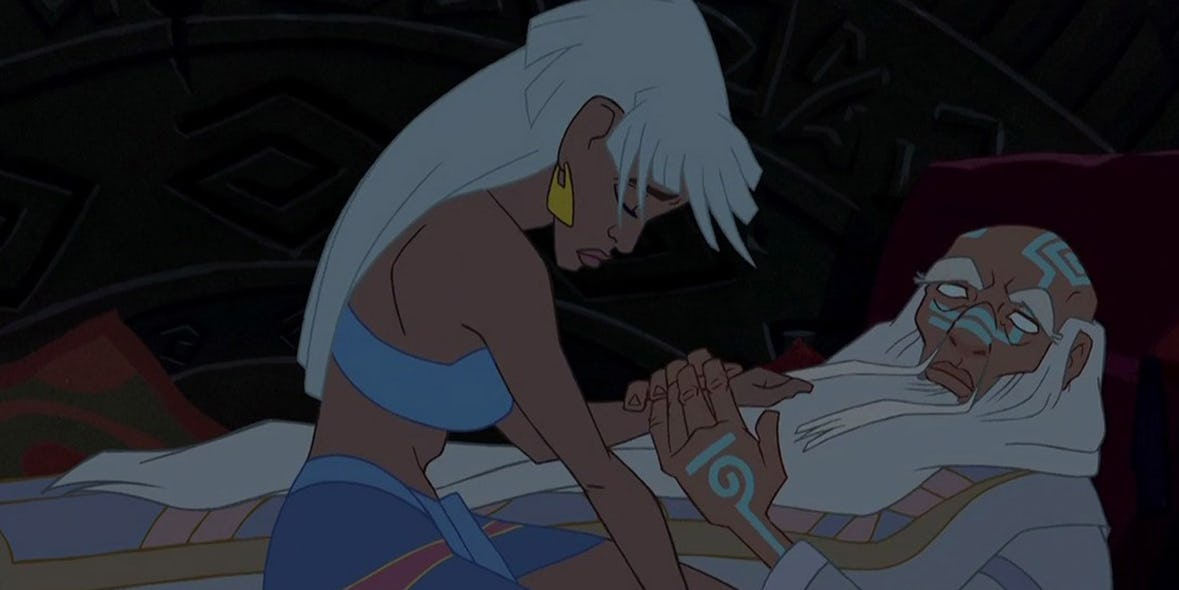 When Kida Had To Watch Her Father Get Beaten To Death
