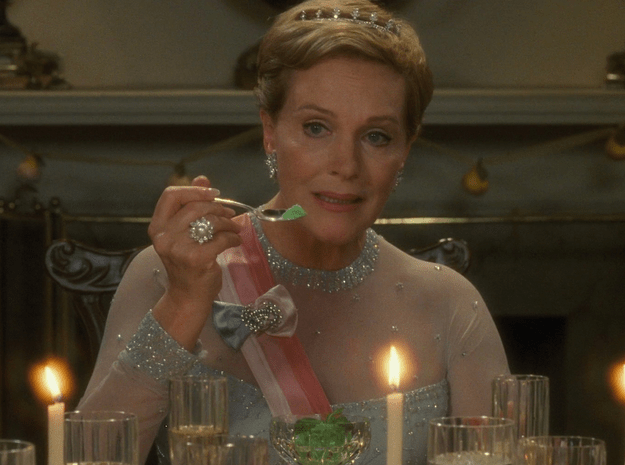 The Mint Sorbet From The Princess Diaries