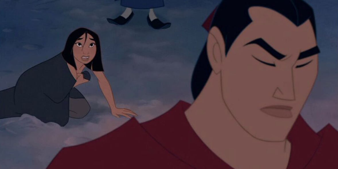 When Mulan Was Left To Die In The Snow By Her Fellow Soldiers