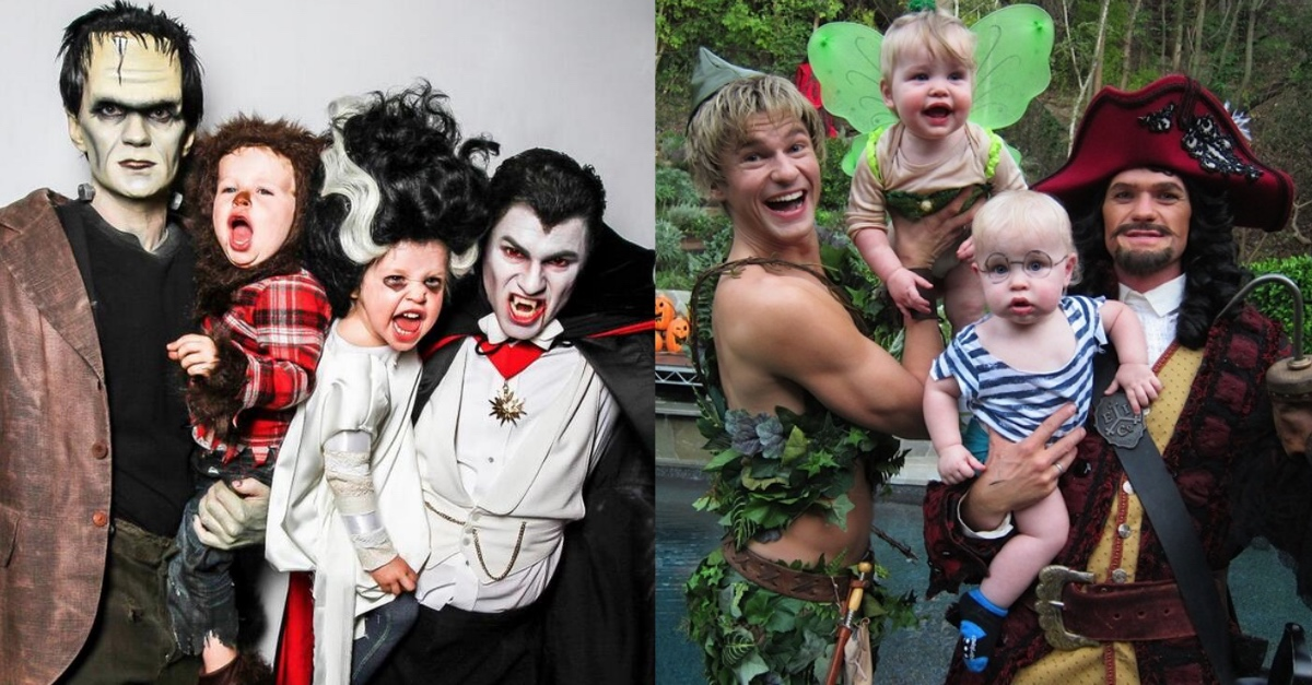 7 times neil patrick harris and family absolutely won the halloween costume game