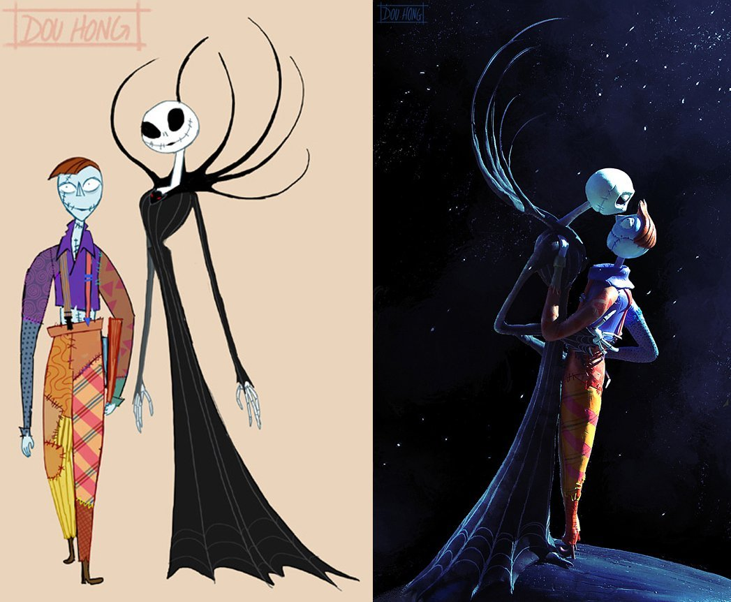 Nightmare Before Christmas Swap Design And Sculpture