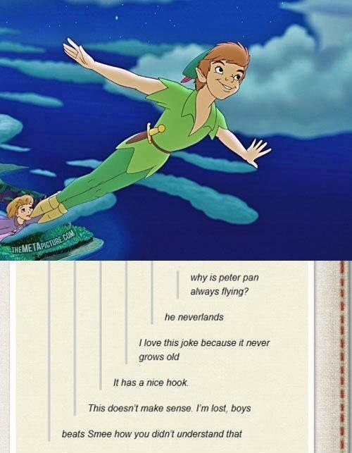 What's Better Than PeterPan Puns