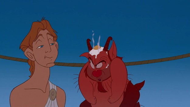Phil's Fried Egg From Hercules