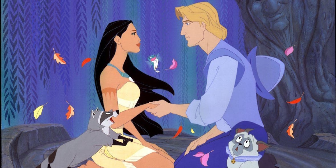 Pocahontas Was Raped And Impregnated By John Smith