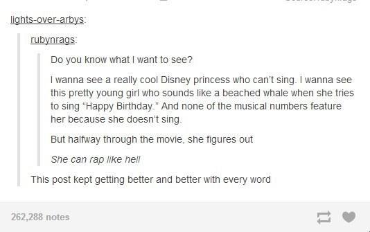 Disney Get On This
