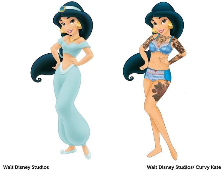 Jasmine With A Full Inked Sleeve