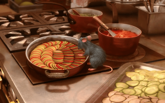 Remy's Ratatouille From Ratatouille