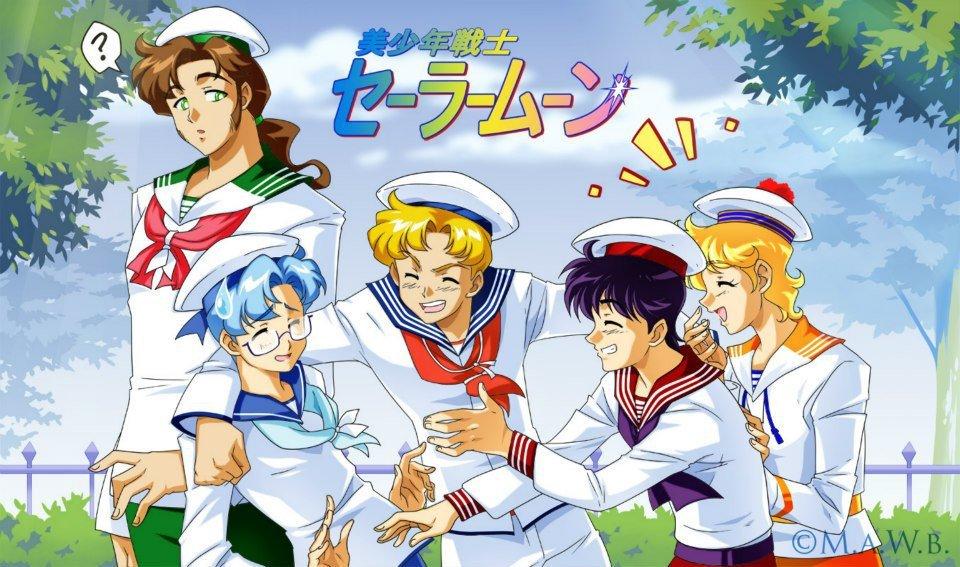 Sailor Moon Boys