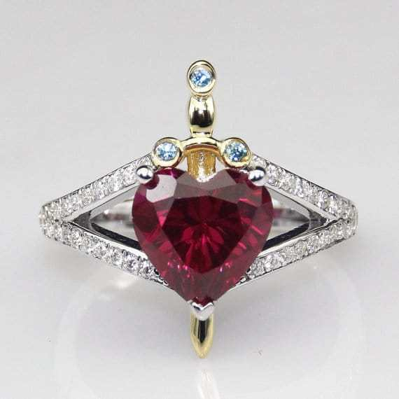 This Ring Is Not Only Inspired By SnowWhiteBut The huntsman Too
