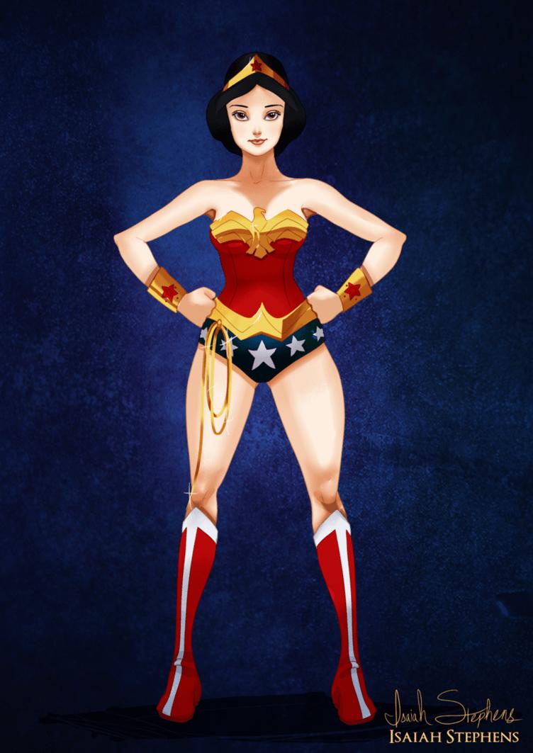 Snow White as Wonder Woman