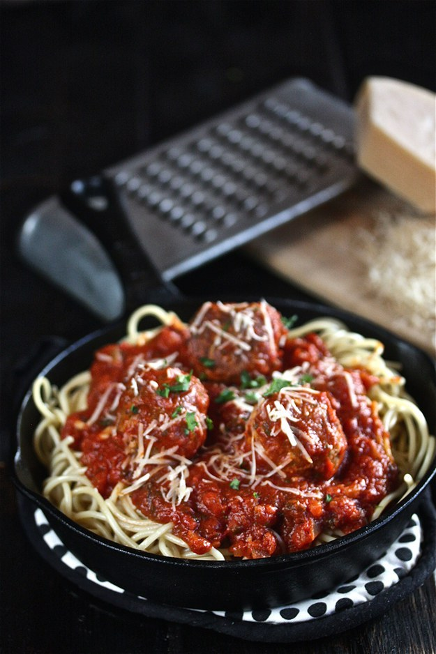 Tony's Spaghetti With Meatballs From Lady And The Tramp 1